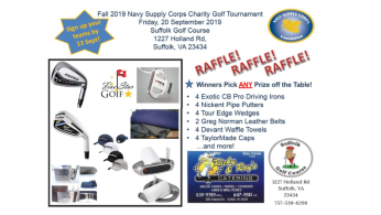 Fall 2019 Supply Corps Charity Golf Outing