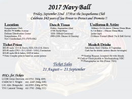 242nd Navy Ball