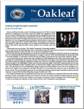 The Winter issue of The Oakleaf is online NOW!