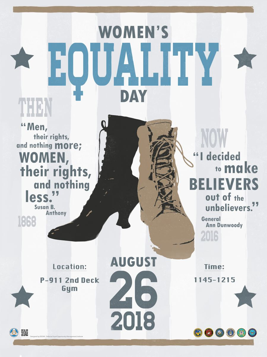 Women's Equality Day 26 August 2018